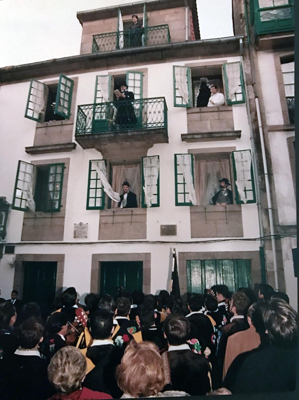 Inauguración do Museo Casa de la Troya (1993)