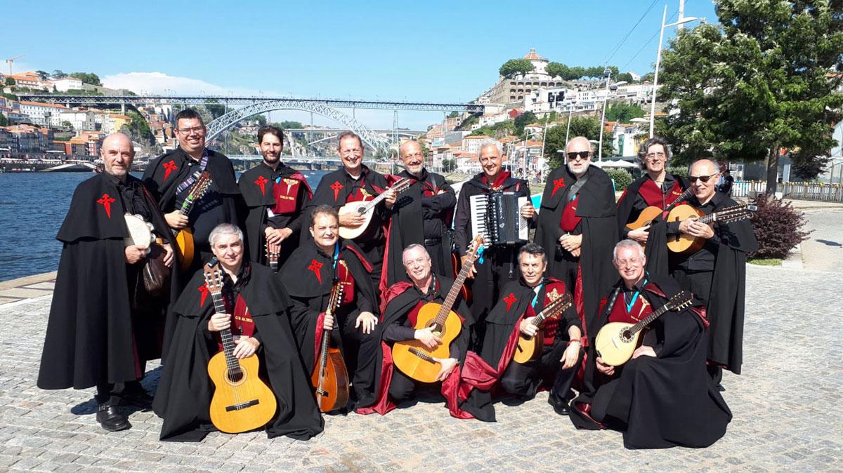 Troyanos de Compostela en Oporto